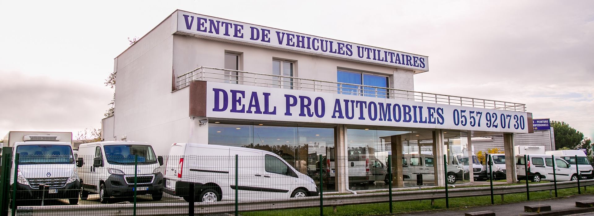 Slide 3 du site de Deal pro automobiles