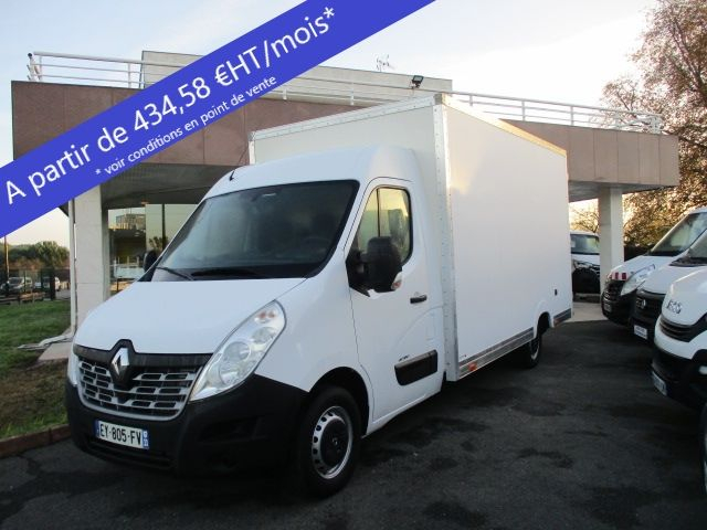 Renault MASTER III PLANCB F3500 L3H2 2.3 DCI 170CH ENERGY GRAND CONFORT EURO6 Diesel BLANC Occasion à vendre