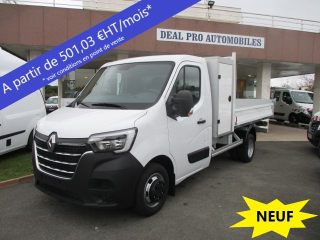 Renault MASTER III BENNE R3500RJ L3 2.3 DCI 145CH ENERGY +COFFRE GRAND CONFORT Diesel BLANC Occasion à vendre